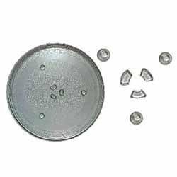 95pm16 - 95pm16 Тарелка для СВЧ-печей (SAMSUNG DE74-00027, 255мм)