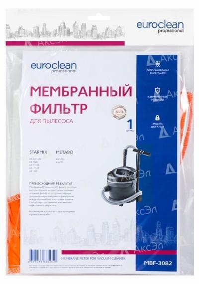 MBF 3082.4 - MBF-3082 Мембранный матерчатый фильтр Euroclean для пылесоса STARMIX, METABO, 1 шт.