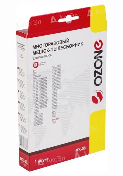 MX 08.5 - MX-08 Мешок-пылесборник Ozone многоразовый для пылесоса LG, тип оригинального мешка: TB-36.