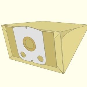 Mf9yR40DBP 1 - Z 28 Комплект пылесборников (бум. 3х слойные антиаллергенные)