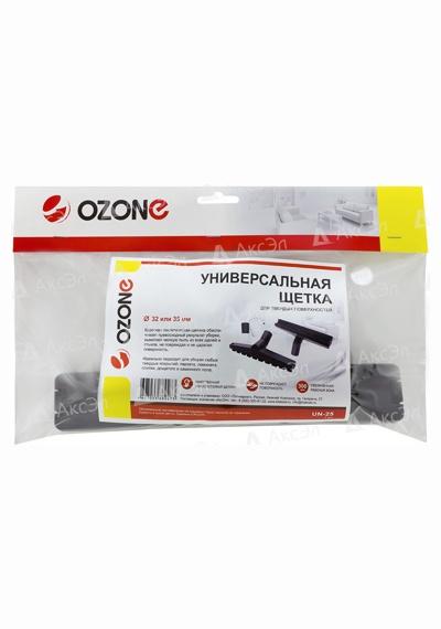 UN 25.4 - UN-25  Универсальная щетка для пылесоса Ozone для твердых поверхностей, под трубку 32 и 35 мм