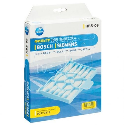 hbs 09 1 500x504 - HBS-09_NEOLUX Моторный фильтр для пылесоса BOSCH, SIEMENS