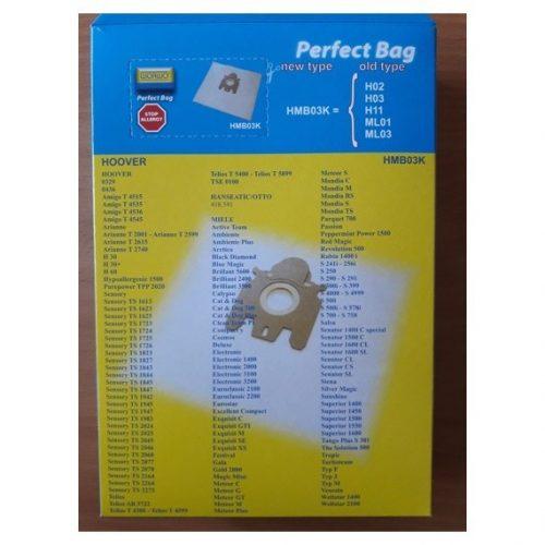 hmb03k3 1 500x500 - HMB 03 K Комплект пылесборников (Hoover H30)