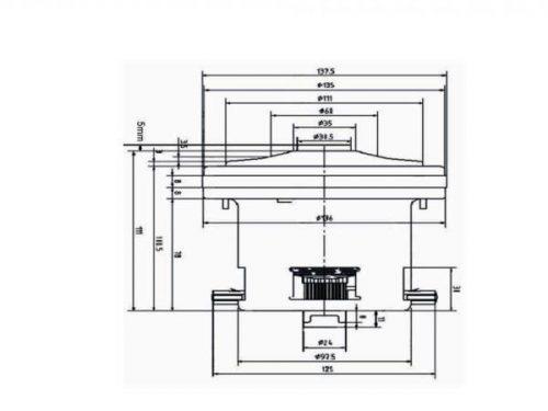 pylesosnyj dvigatel VCM140H W 1400W Bosch sxema 20180625120614 20180726140758 500x375 - Двигатель для пылесоса VCM140H-W 1400W Bosch