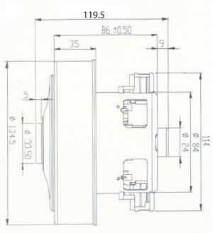 sxema ydc42s 20180724110719 1 - Двигатель для пылесоса YDC42s 2000W высокий H-120 (Samsung VCM-M10GU)