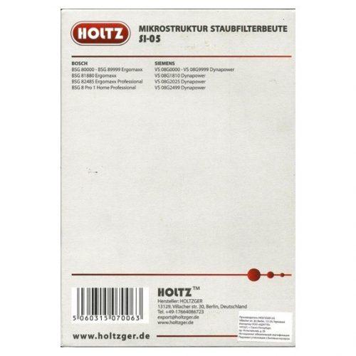 uvS2WqGIRf 1 500x500 - SI-05 Holtz Пылесборник к пылесосу (уп. 3 шт.)