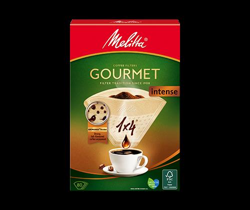 gourmet 1x4 intense eu 500x420 500x420 - Комплект фильтров для кофе 1X4/80 INTENSE